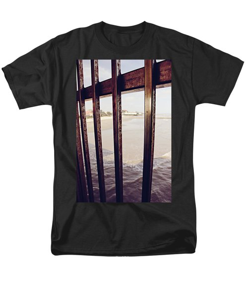 Men's T-Shirt  (Regular Fit) featuring the photograph By The Sea by Trish Mistric