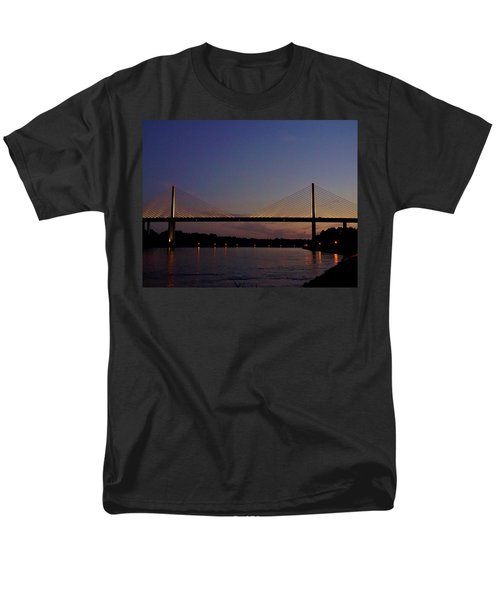 C And D Canal Bridge Men's T-Shirt  (Regular Fit) by Ed Sweeney