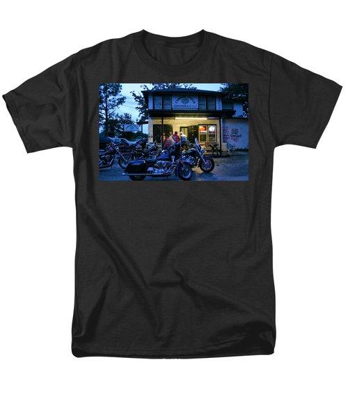 Cabbage Patch Bikers Bar Men's T-Shirt  (Regular Fit) by Kristin Elmquist