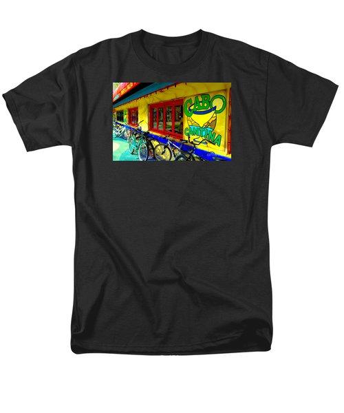 Cabo Cantina - Balboa Men's T-Shirt  (Regular Fit) by Jim Carrell