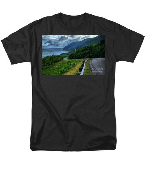 Cabot Trail Men's T-Shirt  (Regular Fit) by Joe  Ng