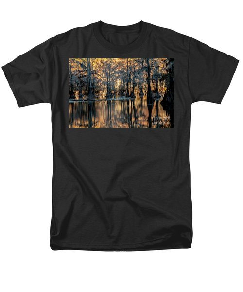 Caddo Lake Sunrise Men's T-Shirt  (Regular Fit) by Iris Greenwell