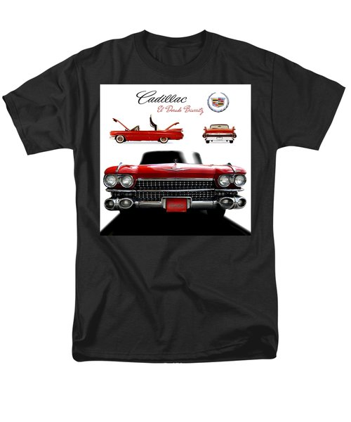 Cadillac 1959 Men's T-Shirt  (Regular Fit) by Gina Dsgn