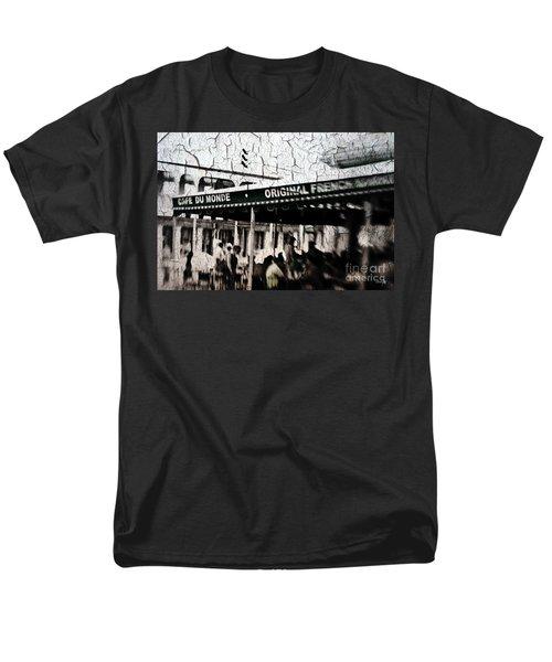 Cafe Du Monde Men's T-Shirt  (Regular Fit) by Scott Pellegrin