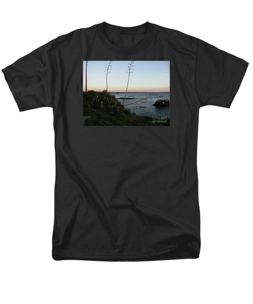 California At Twilight Men's T-Shirt  (Regular Fit) by Mini Arora