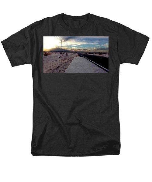 California Desert Highway Men's T-Shirt  (Regular Fit) by Christopher Woods