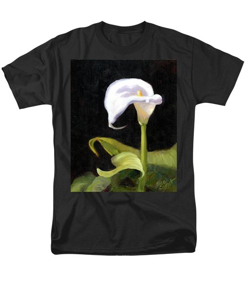 Calla Lily Men's T-Shirt  (Regular Fit) by Alice Leggett