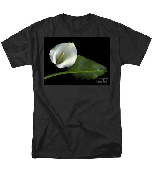 Calla Lily Men's T-Shirt  (Regular Fit) by Christian Slanec