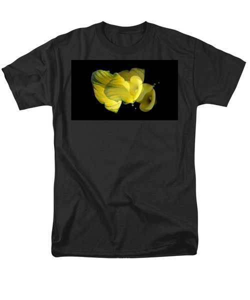 Men's T-Shirt  (Regular Fit) featuring the photograph Calla Lily by Mike Breau