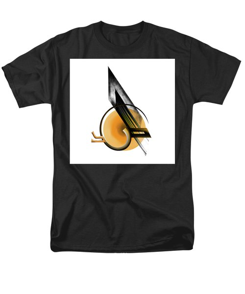 Men's T-Shirt  (Regular Fit) featuring the painting Calligraphy 103 1 by Mawra Tahreem