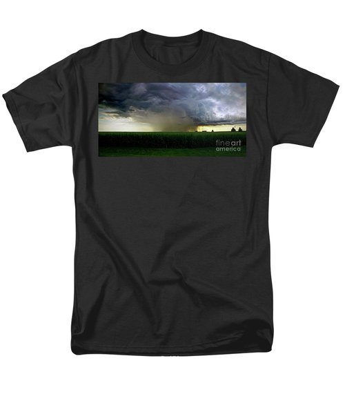 Calm Before The Storm Men's T-Shirt  (Regular Fit) by Sue Stefanowicz