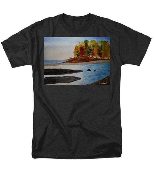 Calm Tide Men's T-Shirt  (Regular Fit) by Carol Crisafi