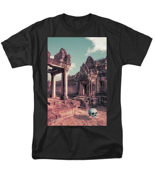Men's T-Shirt  (Regular Fit) featuring the photograph Cambodian Blue by Joseph Westrupp