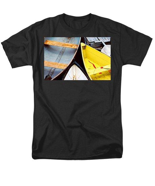 Men's T-Shirt  (Regular Fit) featuring the photograph Camden Dories Photo by Peter J Sucy