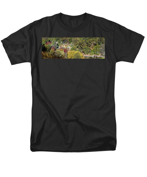Men's T-Shirt  (Regular Fit) featuring the photograph Camelot Castle, Basket Range by Bill Robinson