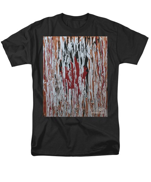 Men's T-Shirt  (Regular Fit) featuring the painting Canada Cries by Cathy Beharriell