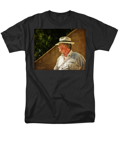 Canadian Artist In Provence Men's T-Shirt  (Regular Fit) by CR  Courson