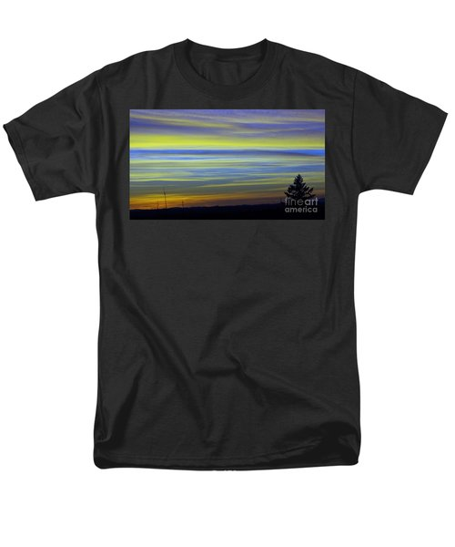 Men's T-Shirt  (Regular Fit) featuring the photograph Candy Sky 1 by Victor K