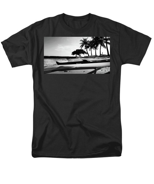 Men's T-Shirt  (Regular Fit) featuring the photograph Canoes by Kristine Merc