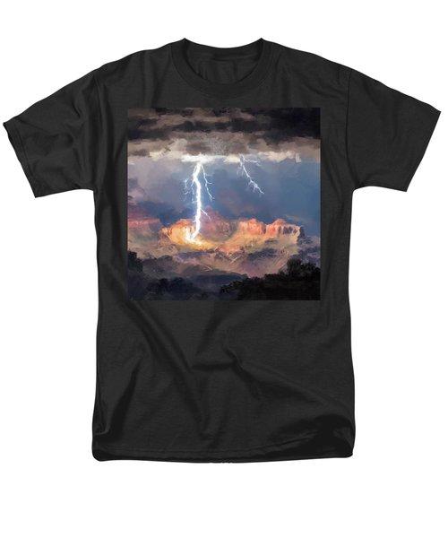 Canyon Storm Men's T-Shirt  (Regular Fit)