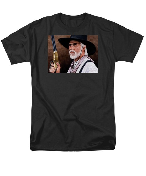 Captain Woodrow F Call Men's T-Shirt  (Regular Fit) by Rick McKinney