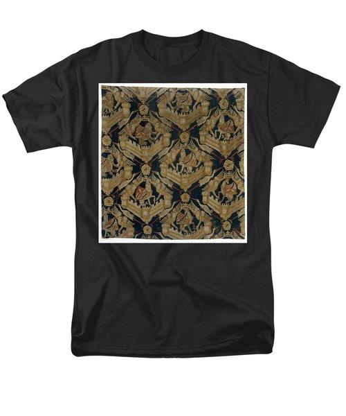 Carpet With The Arms Of Rogier De Beaufort Men's T-Shirt  (Regular Fit) by R Muirhead Art