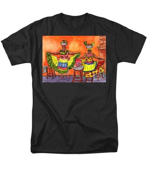 Cartagena Fruit Venders Men's T-Shirt  (Regular Fit) by Randy Sprout