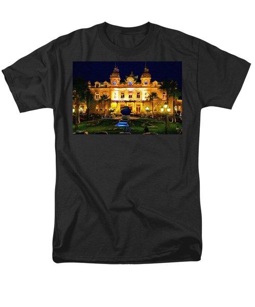 Casino Monte Carlo Men's T-Shirt  (Regular Fit) by Jeff Kolker