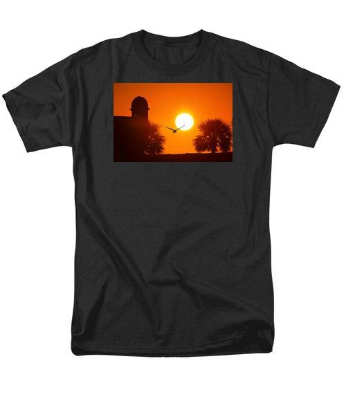 Castillio De San Marcos Men's T-Shirt  (Regular Fit) by Robert Och