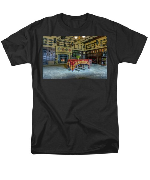 Men's T-Shirt  (Regular Fit) featuring the photograph Castle Dining Room by Ian Mitchell