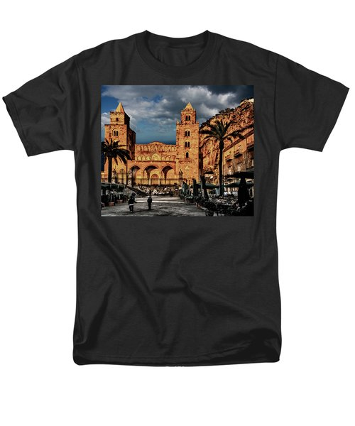 Cathedral  Men's T-Shirt  (Regular Fit) by Patrick Boening