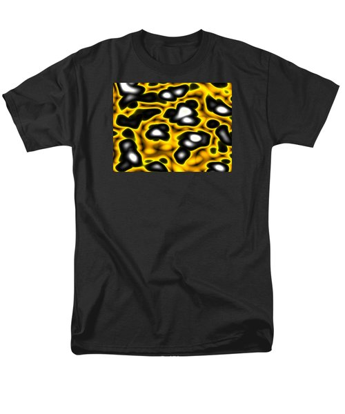 Men's T-Shirt  (Regular Fit) featuring the digital art Caution by Jeff Iverson