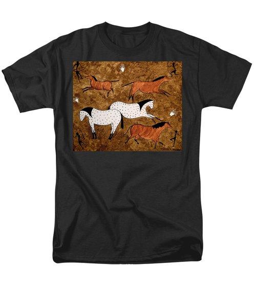 Cave Horses Men's T-Shirt  (Regular Fit)