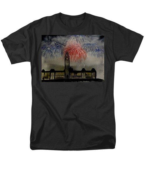 Celebrate Men's T-Shirt  (Regular Fit) by Betty-Anne McDonald