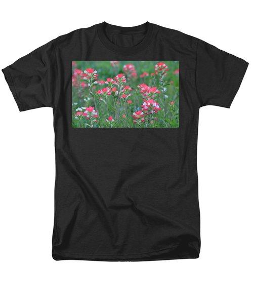 Celebration Of Paintbrushes Men's T-Shirt  (Regular Fit) by Carolina Liechtenstein