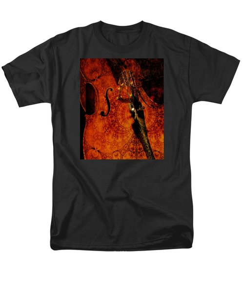 Cellos At Midnight Men's T-Shirt  (Regular Fit) by Michele Cornelius