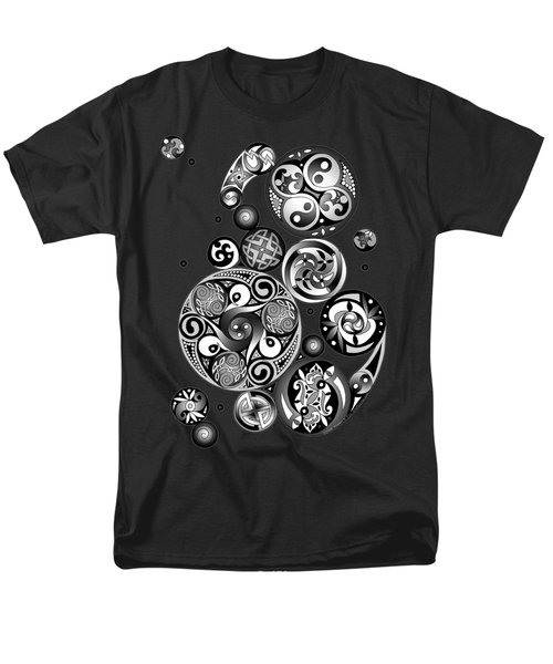 Celtic Clockwork Men's T-Shirt  (Regular Fit) by Kristen Fox