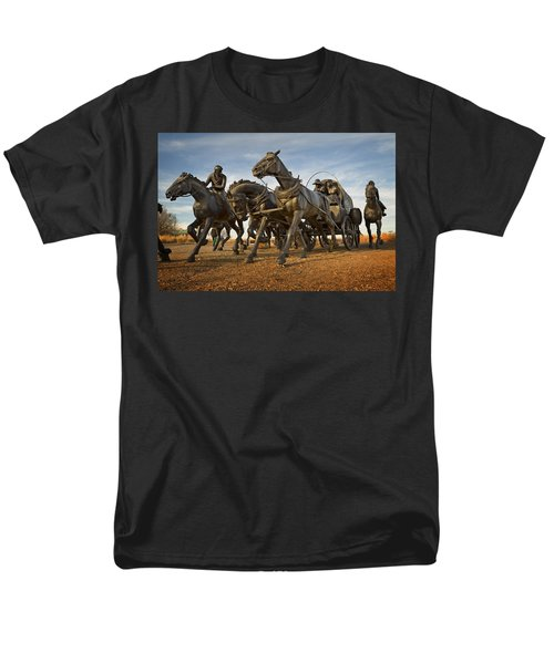 Centennial Statues Men's T-Shirt  (Regular Fit)
