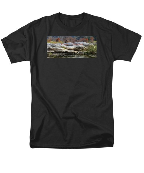 Men's T-Shirt  (Regular Fit) featuring the photograph Centered In Humility by David Norman