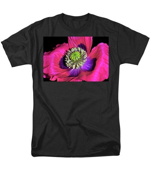 Centerpiece - Poppy 020 Men's T-Shirt  (Regular Fit) by George Bostian