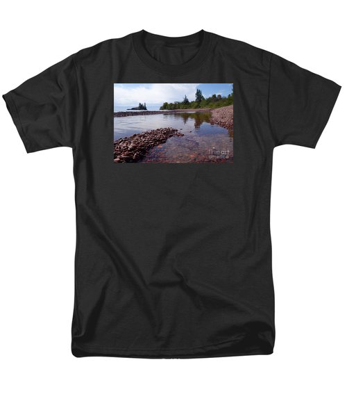Men's T-Shirt  (Regular Fit) featuring the photograph Changing Channels by Sandra Updyke