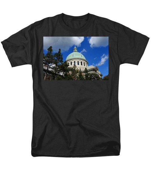 Chapel - Us Naval Academy 3 Men's T-Shirt  (Regular Fit) by Lou Ford