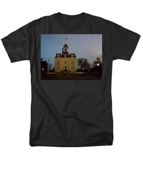 Chase County Courthouse Men's T-Shirt  (Regular Fit) by Keith Stokes