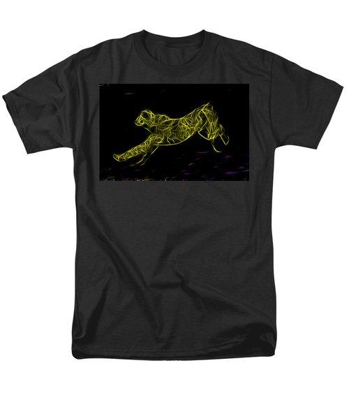 Cheetah Body Built For Speed Men's T-Shirt  (Regular Fit) by Miroslava Jurcik