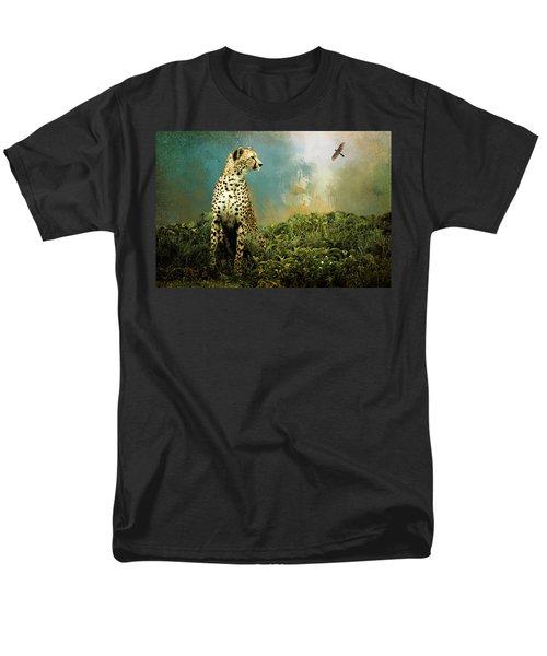 Cheetah Men's T-Shirt  (Regular Fit) by Diana Boyd