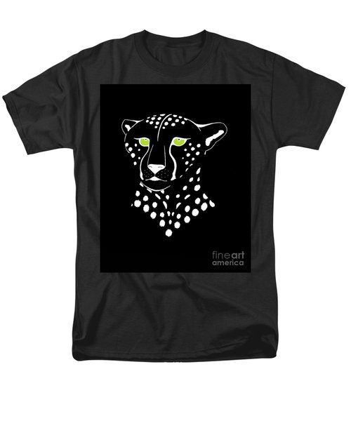 Cheetah Inverted Men's T-Shirt  (Regular Fit) by Alycia Christine