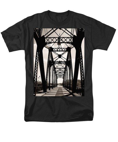 Cherry Avenue Bridge Men's T-Shirt  (Regular Fit) by Kyle Hanson