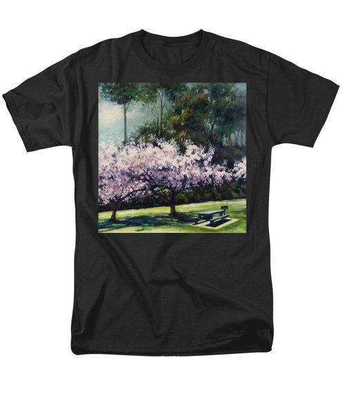Cherry Blossoms Men's T-Shirt  (Regular Fit) by Rick Nederlof