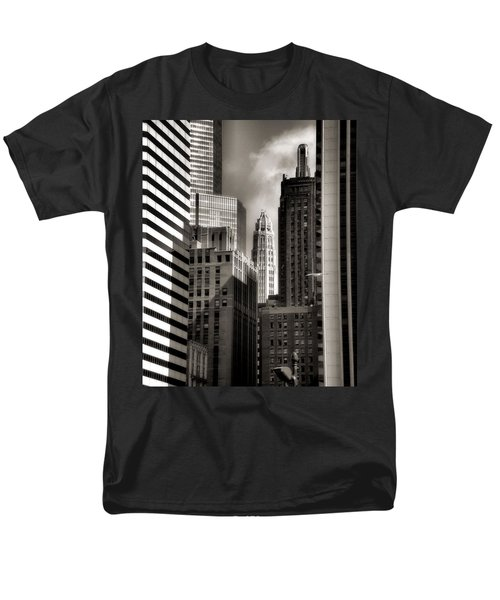 Chicago Architecture - 13 Men's T-Shirt  (Regular Fit) by Ely Arsha