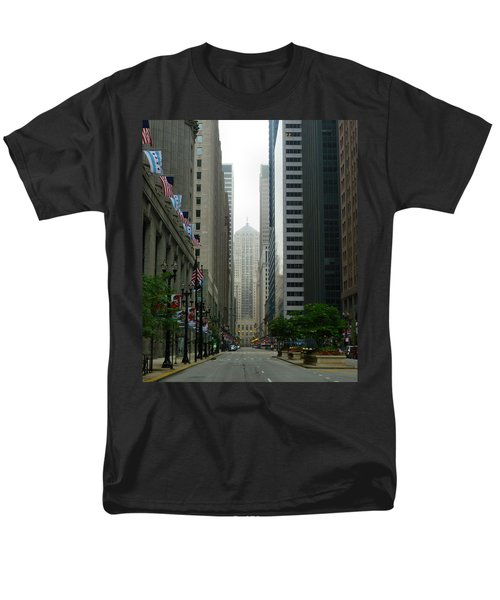 Chicago Architecture - 17 Men's T-Shirt  (Regular Fit) by Ely Arsha